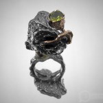 Кольцо «Темный плющ».