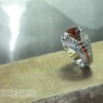 Мужское кольцо «Вулкан».