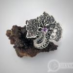 Кольцо «Орхидея»