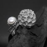 Серебряное кольцо «Fungus»