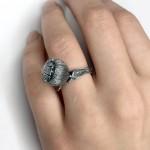 Кольцо «Маковая головка»